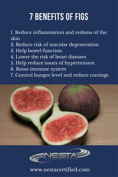Health Benefits of Figs Figs are high in fiber and a good source of several essential minerals including magnesium manganese calcium which promotes bone density copper an. Healthy Body Weight, Healthy Life, Healthy Eating, Healthy Heart, Healthy Food, Soy Milk Nutrition, Nutrition Tips, Fitness Nutrition, Nutrition Store