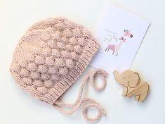 PDF Baby Hat Knitting Pattern Baby Bonnet Pattern от LoveFibres