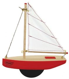 Sailing Yacht with Keel    myriad  natural toys & crafts