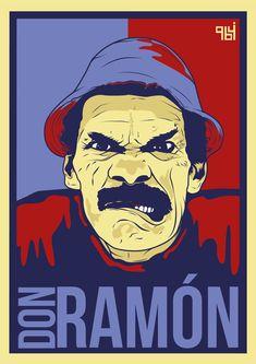 Don Ramón. Ramon Valdes, Angel Warrior, Stickers, Cartoon Network, Cartoon Art, Iphone Wallpaper, Pop Art, Stencils, Nerd