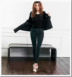 Paige Denim Fall Winter 2014 Women's Lookbook