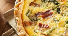 Simple Savory Recipe: Bacon and Spinach Quiche