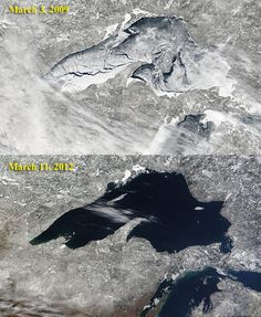Great Lakes Ice Loss