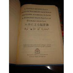 Gospel of Luke in 7 Languages (German, Italian, French, Spanish and English Edition)  $44.99