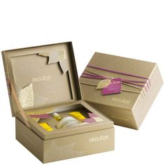 Decleor Treasures Of Nature Anti-Ageing Gift Set (4 Products) #giftbox #packaging