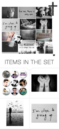 """""""Black by Daniella"""" by dreamz-come-true ❤ liked on Polyvore featuring art"""