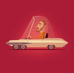 CARS on Behance