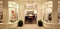 Absolutely love Seed store design & merchandising, props are brilliant