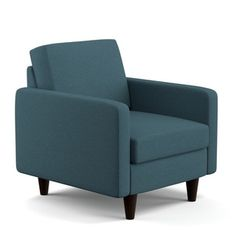 Portfolio Luca Caribbean Blue Linen SoFast Chair