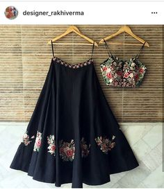 Checkout this newly arrival flower embroidered wall lehenga choli Get the look for only 1600 INR To buy WhatsApp @ 9054562754 Indian Gowns Dresses, Indian Fashion Dresses, Indian Designer Outfits, Designer Dresses, Indian Designers, Indian Fashion Trends, Lehenga Designs, Choli Designs, Mode Outfits
