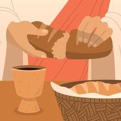 Semana santa with bread and wine | Free Vector #Freepik #freevector #hand #santa #wine #hand-drawn Pictures Of Christ, Jesus Christ Images, Jesus Art, Christian Backgrounds, Christian Wallpaper, Lds Art, Bible Art, Jesus Drawings, Jesus Is Life