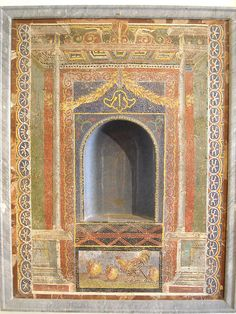 Lararium from Pompeii - Naples, Archaeological Museum by * Karl *, via Flickr