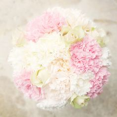 carnations get a bad rap but in a bouquet I love them