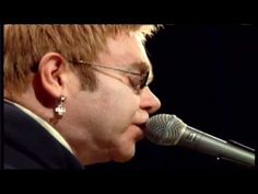 """Elton John """"Daniel"""" and the a story behind it. Just a man, his words and a piano. Sure I'll sing it.  Heartfelt."""