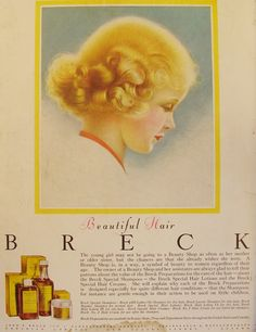 breck shampoo, what my Grandmother grew up on Breck Shampoo, Product Ads, Oldies But Goodies, I Remember When, Magazine Ads, Ol Days, My Childhood Memories, Vintage Beauty, Vintage Cards