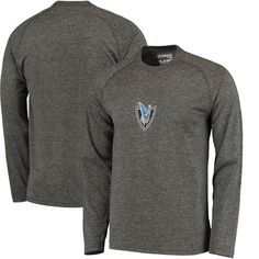 Dallas Mavericks adidas Pre-Game Ultimate climalite Long Sleeve T-Shirt - Heathered Gray - $34.99