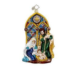 Christopher Radko -Holy Reflections Christmas Ornament