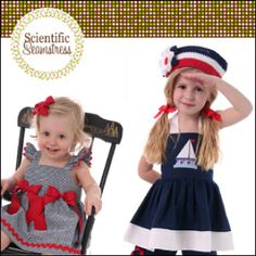 Simply Sweet Tops and Dresses- Sizes 6M-8 | Sewing Pattern | YouCanMakeThis.com