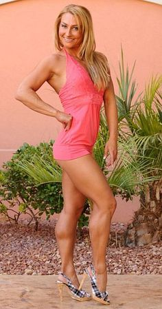 IFBB Fitness pro, ISSA certified sports nutritionist and personal trainer Betsy McNally Harris