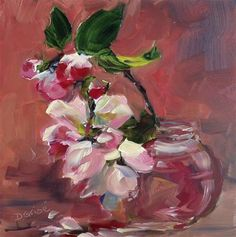"""Apple Blossoms"" by Deb Grise"