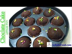 Eggless chocolate cake recipe in appam pan with detailed step by step directions with photos & video. learn how to make cake in appam pan Eggless Desserts, Sweet Desserts, Dessert Recipes, Cake Recipes Eggless, Eggless Baking, Snack Recipes, Easy Moist Chocolate Cake, Chocolate Flavors, Chocolate Chips