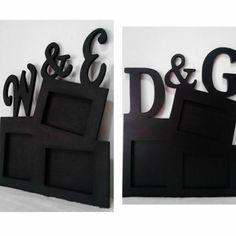 Portaretratos personalizados con iniciales !! #Love #Regalos #Obsequios #Decoracion #Hogar #InteriorDesign #HomeDesigns #Art #HomeDesign #Arte #Design #Hogar #Home by instagift.madrid http://discoverdmci.com