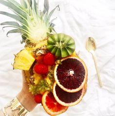 Pineapple Fruit Salad! // Cristina Ramella Jewelry