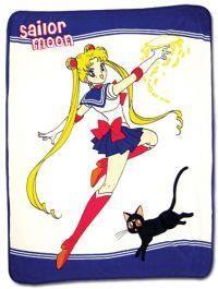 a8eaf266084 Great Eastern Entertainment Sailor Moon   Luna Throw Blanket  A high  quality