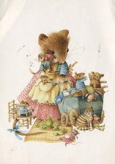 Marjolein Bastin | Marjolein Bastin... Had a bunch of the Vera books as a kid! Such beautiful art!