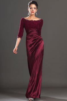 Edressit Stylish Lace Sleeves Mother Of The Bride Dress 26121817 I Like This Color