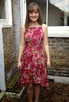 Diary of a Chain Stitcher : Pattern Testing: The Flora Dress from By Hand Lond...