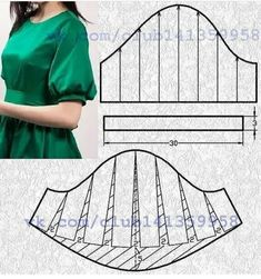 Amazing Sewing Patterns Clone Your Clothes Ideas. Enchanting Sewing Patterns Clone Your Clothes Ideas. Sewing Paterns, Sewing Patterns For Kids, Clothing Patterns, Sewing Clothes, Diy Clothes, Dress Sewing, Costura Fashion, Sewing Collars, Sewing Sleeves