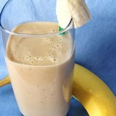 Peanut Butter Banana Smoothie Allrecipes.com
