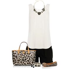 Animal Print Bag, created by immacherry on Polyvore