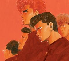 Manga Anime, Anime Eyes, Slam Dunk Manga, Inoue Takehiko, Slammed, Animation, Cartoon, Illustration, Painting