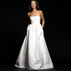 This dress really pushed me to design something different for my gown. I loved the texture and body.