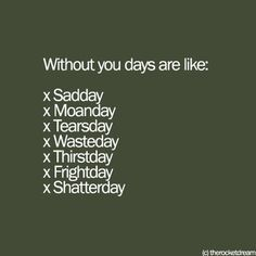 Without Jesus. hahha Sooooo trueeee! Days when Jesus isn't my number one priority and I forget to spend time with Him, I end up a total wreck. Jesus Time is the best time.