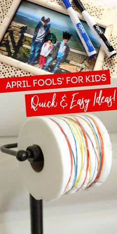 Check out these April Fools' Ideas for Kids that will give them the trick this April 1st. If you want some family-friendly April Fools' prank ideas! #passion4savings #pranks #forkids #easy #quick #ideas #aprilfools #silly #familyfriendly