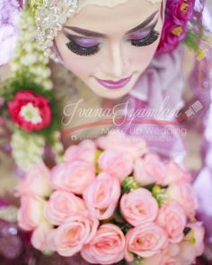 follow Instagram @salon.ivana for your wedding Mua   mua💄: Ivana Syamlan #hijab