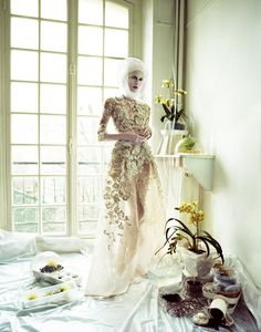 Zuzanna Bijoch photographed by Jeff Bark for Vogue Ukraine, April 2013