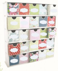 If you need smaller drawers this maybe the answer for you.  The kit also comes with numbers through to 25 so that you could turn it into an advent calendar if you preferred.  We hope you will click the like button.  http://www.clevercrafts.co.nz/wooden-products/25-drawer-storage-box