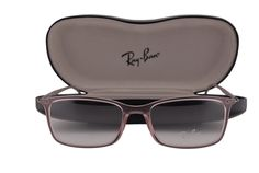 Ray Ban RX7031 Eyeglasses 53-17-140 Antique Pink 5402 RX 7031. Ray Ban Eyewear. Model: RX7031 w/Light & Thin Frame Temples. Color Code: 5402 Antique Pink w/NON-WEARABLE CLEAR DEMO lens. Designer eyewear comes with an original case and cleaning cloth. If the glasses arrive slightly crooked, it is natural, and they will return to their original shape when your lenses are installed. We handle prescription orders! Email us for details! Visit our storefront: www.amazon.com/shops/A1WUXX7TFM8VUI.