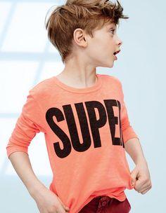 AUG '15 Style Guide: J.Crew boys' superhuman tee.