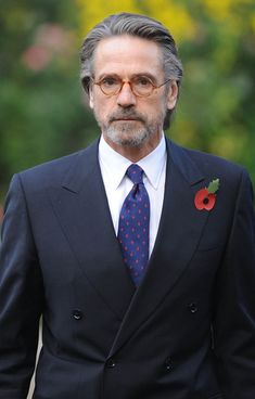 Jeremy Irons In All Black 2 Elements My Style