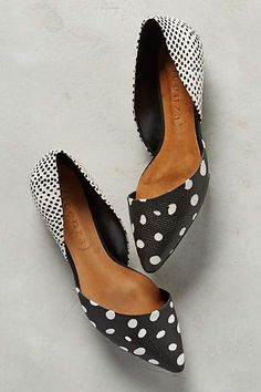 Vicenza Scaled Dot D'Orsays - anthropologie.com