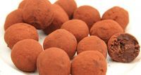Étcsokoládés avokádó trüffel recept