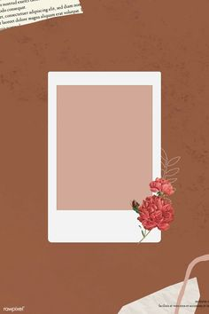 Framed Wallpaper, Flower Background Wallpaper, Orange Background, Background Patterns, Picture Templates, Photo Collage Template, Collage Photo, Photo Collages, Wall Collage