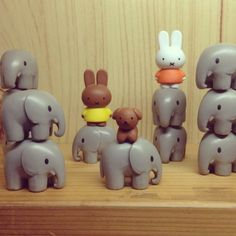 Miffy and friends! Elements: Colour, form, texture and tone. Principles: Scale and proportion.