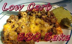 Looking for an indoor barbeque recipe this year? Try this Low Carb BBQ Bake to get those same summer grilling flavors without the outdoor grill. Atkins Recipes, Low Carb Recipes, Diet Recipes, Cooking Recipes, Healthy Recipes, Entree Recipes, Diet Tips, Healthy Meals, Recipies