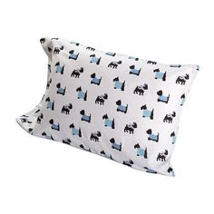 Ashley Cooper™ Warm Doggies Flannel Sheet Set Ashley Cooper, Scottish Terriers, Sheet Sets, Doggies, Flannel, Bed Pillows, Pillow Cases, Warm, Little Puppies